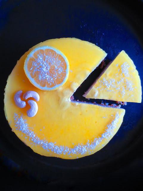 Cheesecake { vegan } citron & noix de coco (option sans gluten) : aussi gourmand que les cheesecakes traditionnels !