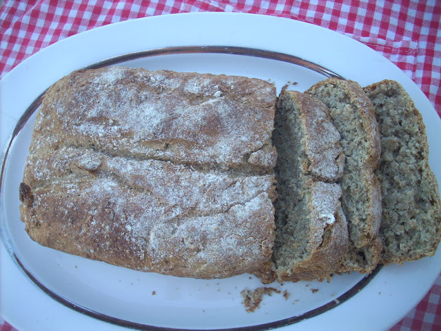 Whole bread with grains