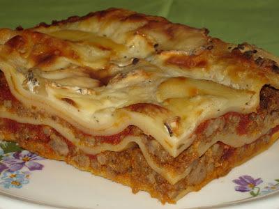 lasagne s mletym masom