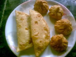 Modak and Nevri/Karanji/Gujia -Ganesh Chaturthi Special