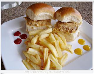Sanduíche Especial de Frango para o Dia das Crianças
