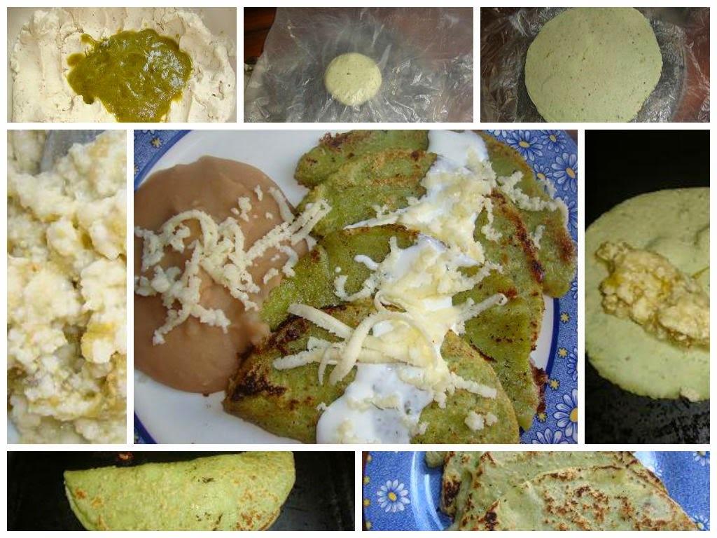 Enchiladas Potosinas Verdes