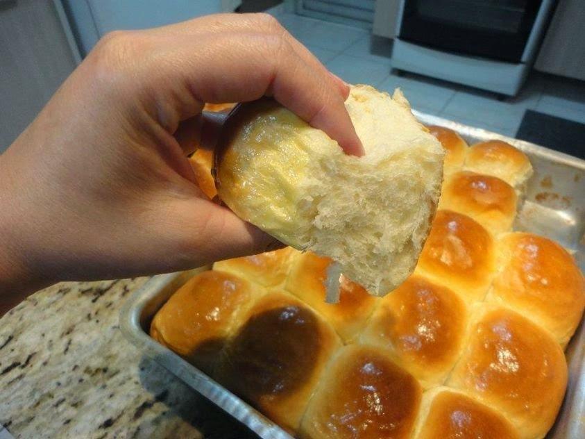 Receita de Pão Caseiro básico