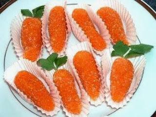 Docinhos de Cenoura
