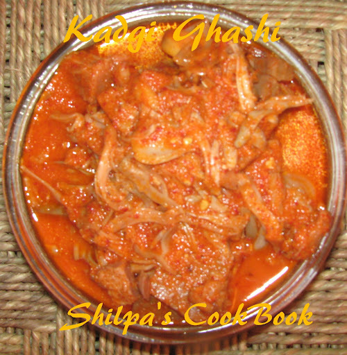 Kadgi Ghashi (Raw Jackfruit in Garlic Seasoned Gravy)