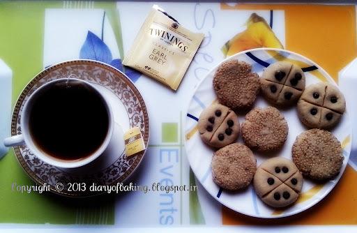 Peanut Butter Naan-khatai.....Eggless Peanut Butter Cookies