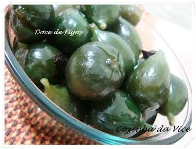 doce de figo verde com cal