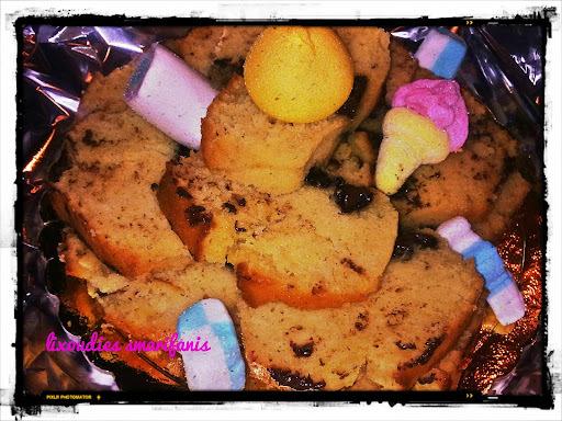 """Υγρό κέικ """"Αμίτας"""" με κομμάτια σοκολάτας και Update!"""