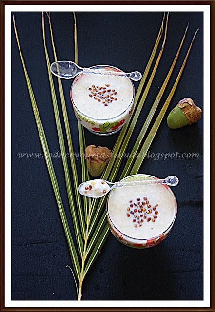 Elaneer Payasam | Tender Coconut Kheer