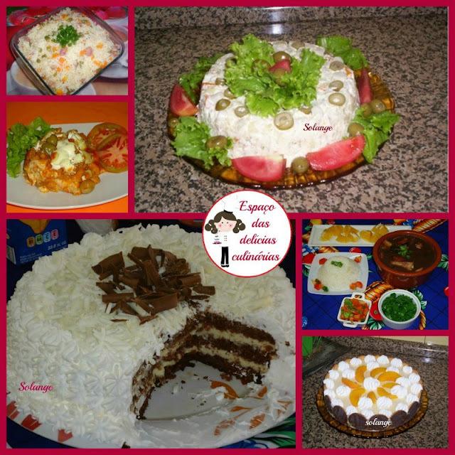 Receitas para almoço do dias das mães: Postagem coletiva