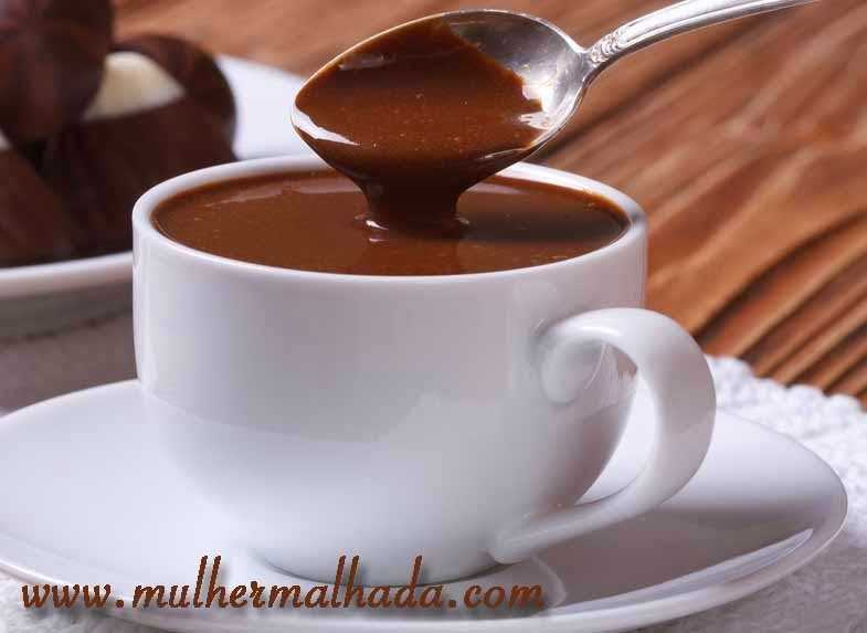 Receita de Chocolate Quente Italiano Saudável