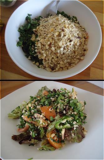 Salada Verde com Castanha