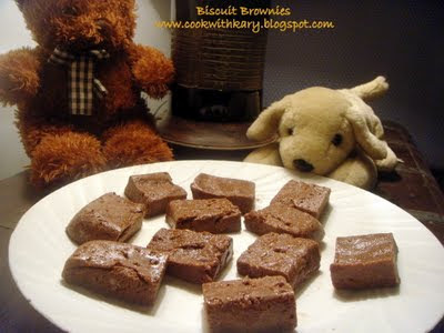 Biscuit Brownies