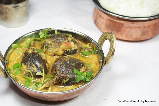 Gutti Vankaya Curry (for Non Veg Lovers)