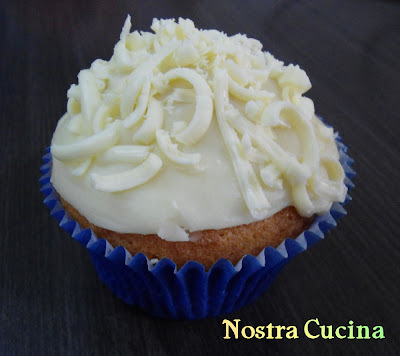Cupcakes de Chocolate Branco!!!