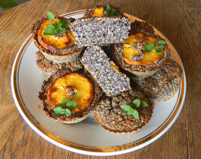 Mákos muffin (paleo)