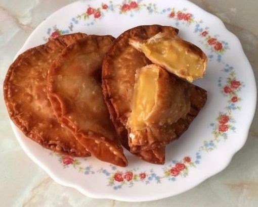 Empanadillas de Natillas de Caramelo