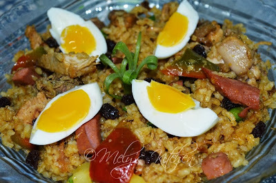 Mely's Kitchen Arroz Valenciana