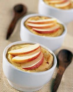 manzanas rebanadas acarameladas