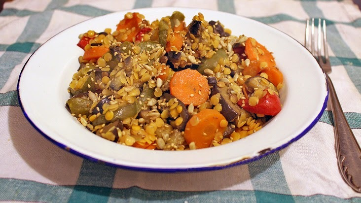 El ingrediente mágico (Video Patrocinado) + Ensalada tibia de vegetales y lentejas