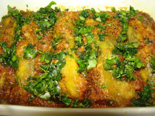 Stuffed Karela (Bitter Melon)