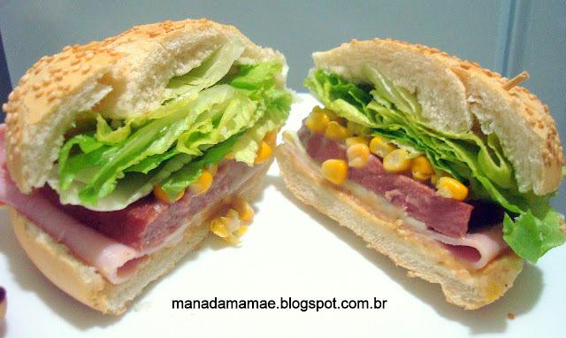 Sanduíche de Fiambre