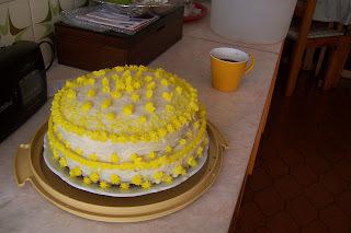 Torta Doble y Crema de Manteca