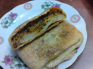 recette marocaine : Mssemen au four farcie ( ramadan recipes )