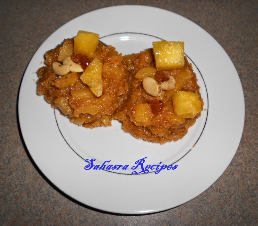 Pineapple Rava Kesari - Shhhhh Cooking Secretly Challenge
