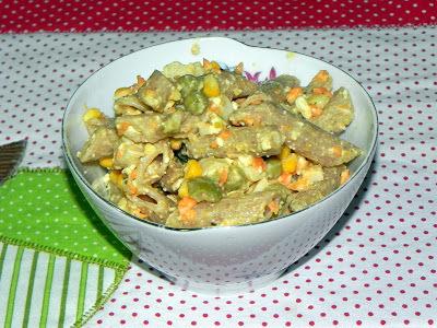Salada Light de Macarrão Integral