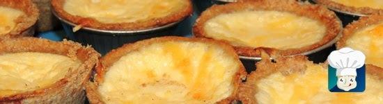Empadinha de queijo com massa integral