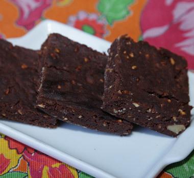 Brownie com Chocolate Confeitare