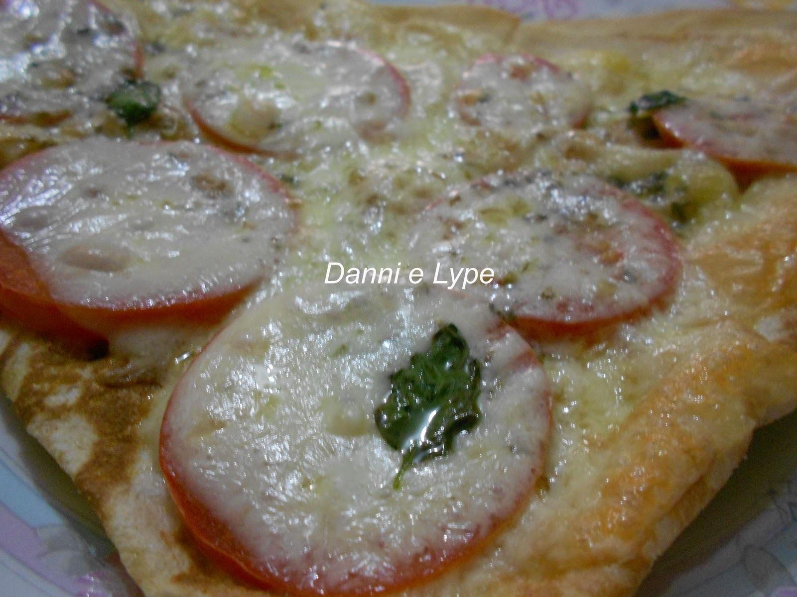 Pizza com Pão Folha