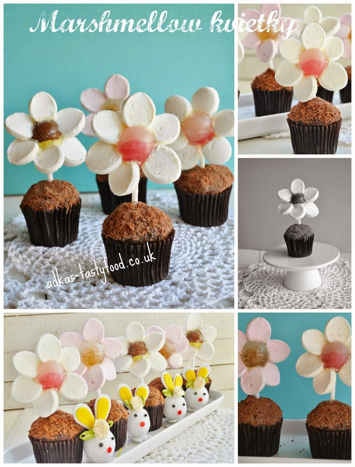 Veľkonočné  variácie - Marshmallow kvietky