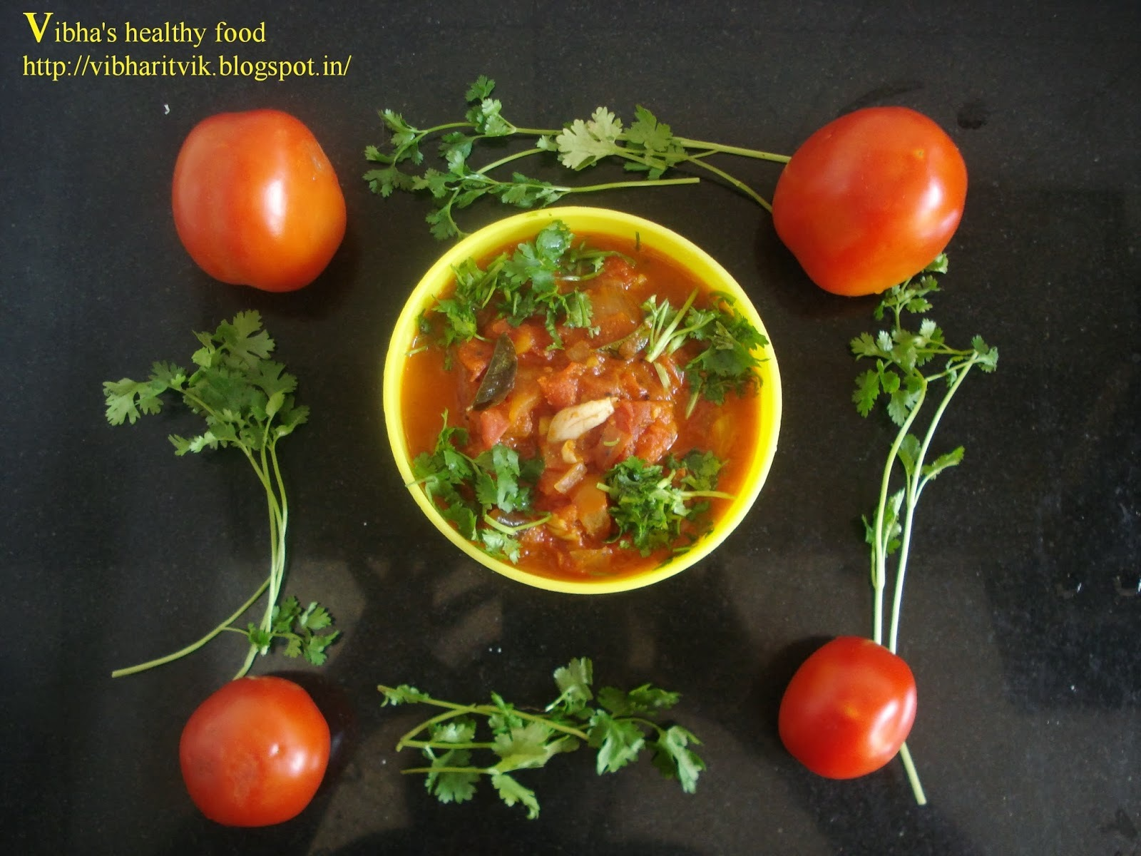 tomato curry for chapati