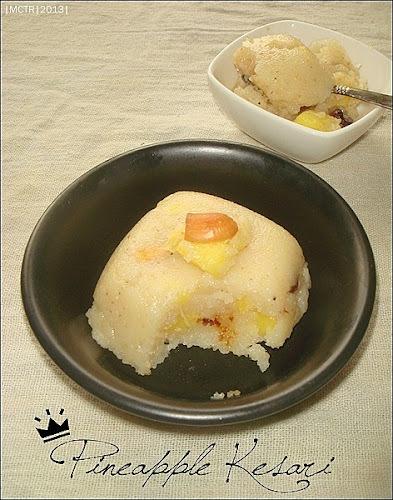 Pineapple Kesari | Happy Ugadi to all my readers