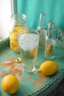 bolo de limão com casca no liquidificador