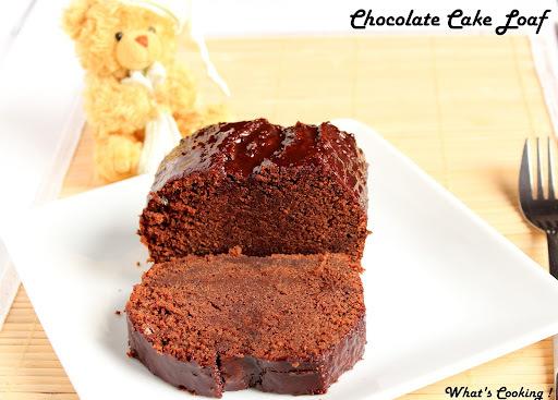 chocolate cake on stove