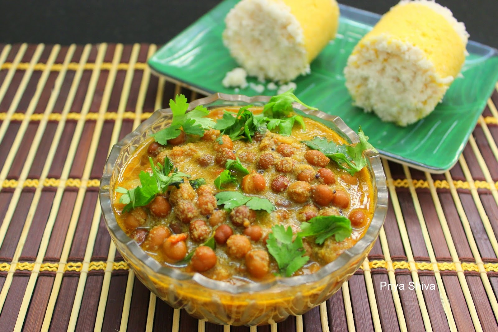 Kadala Curry / Black Chickpeas Curry