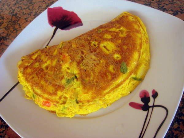 Omelete, uma delícia!