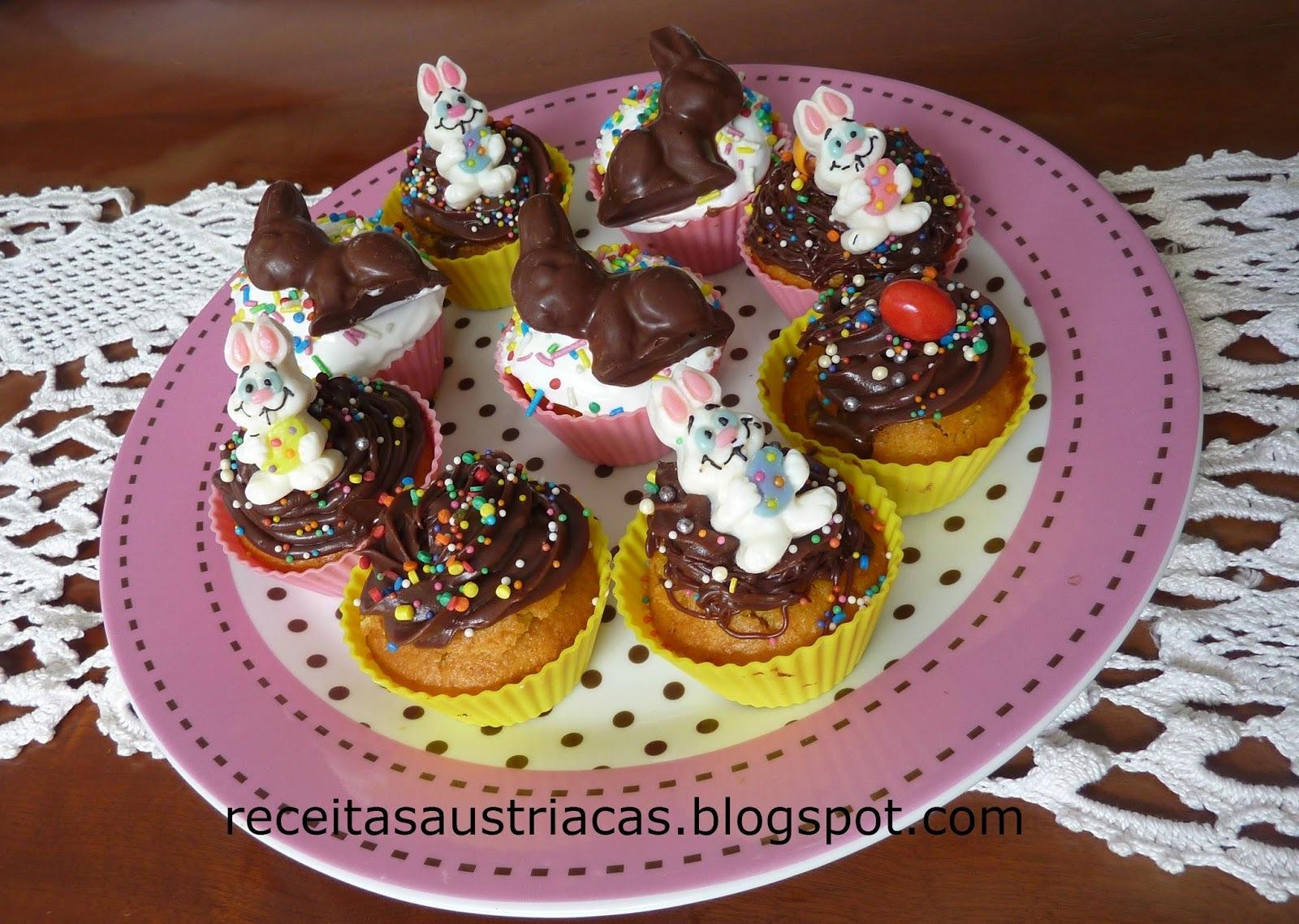 CUP CAKES DE CENOURA PARA PÁSCOA – Oster-Cupcakes