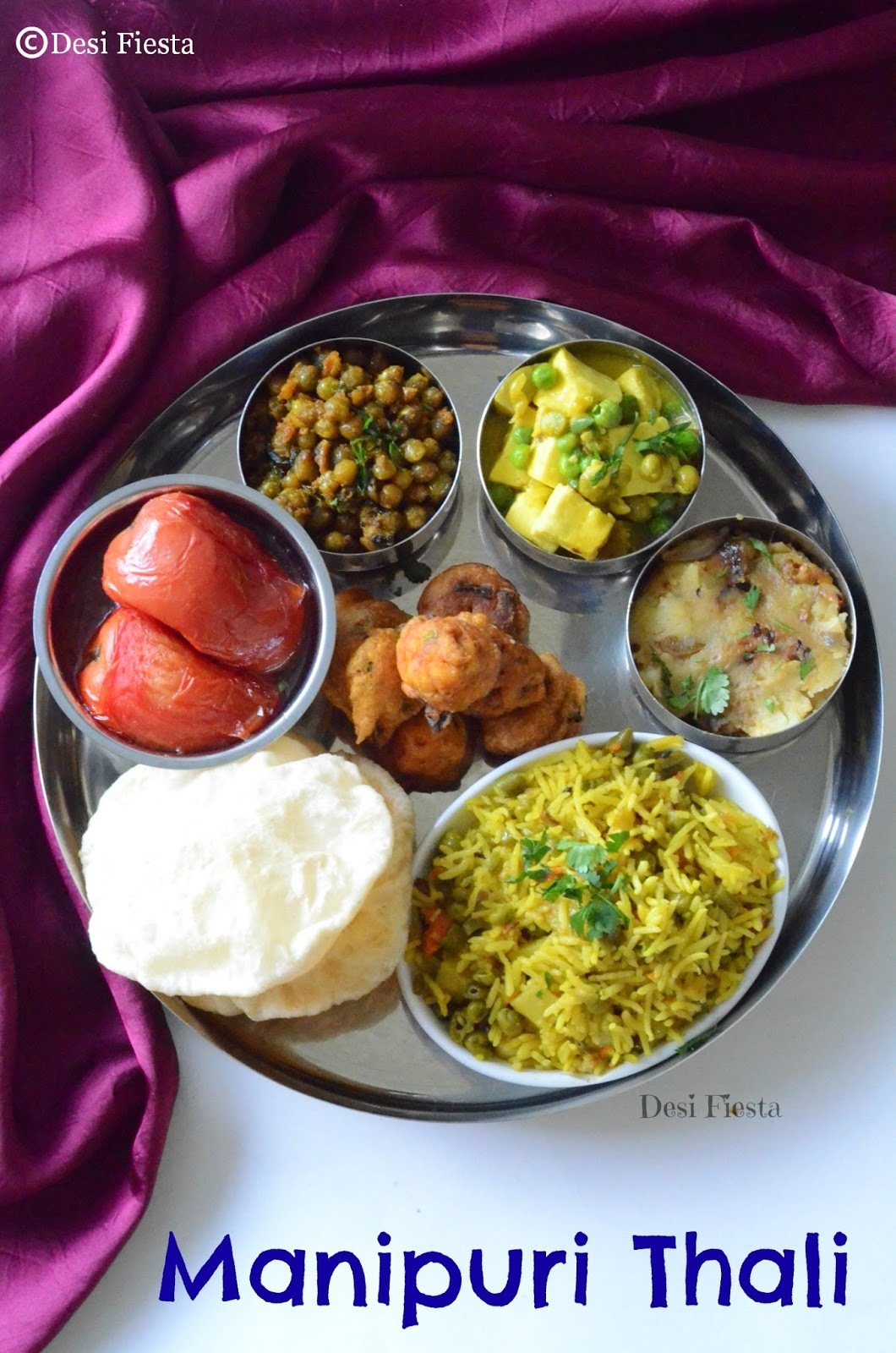 Manipuri Thali | Manipur Cuisine