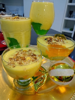 mousse de abacaxi sem leite condensado