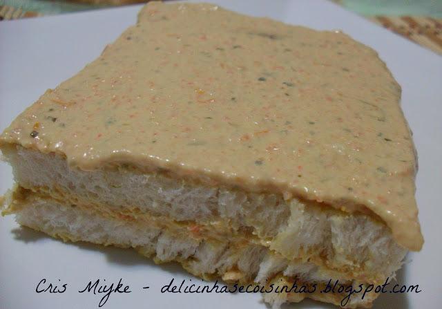Torta Falso Camarão