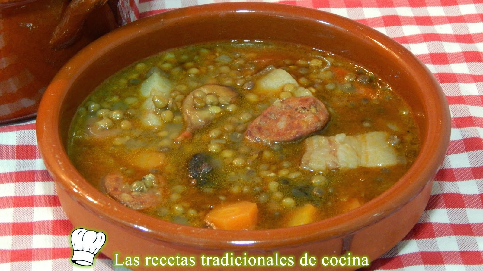 Receta simple de lentejas estofadas