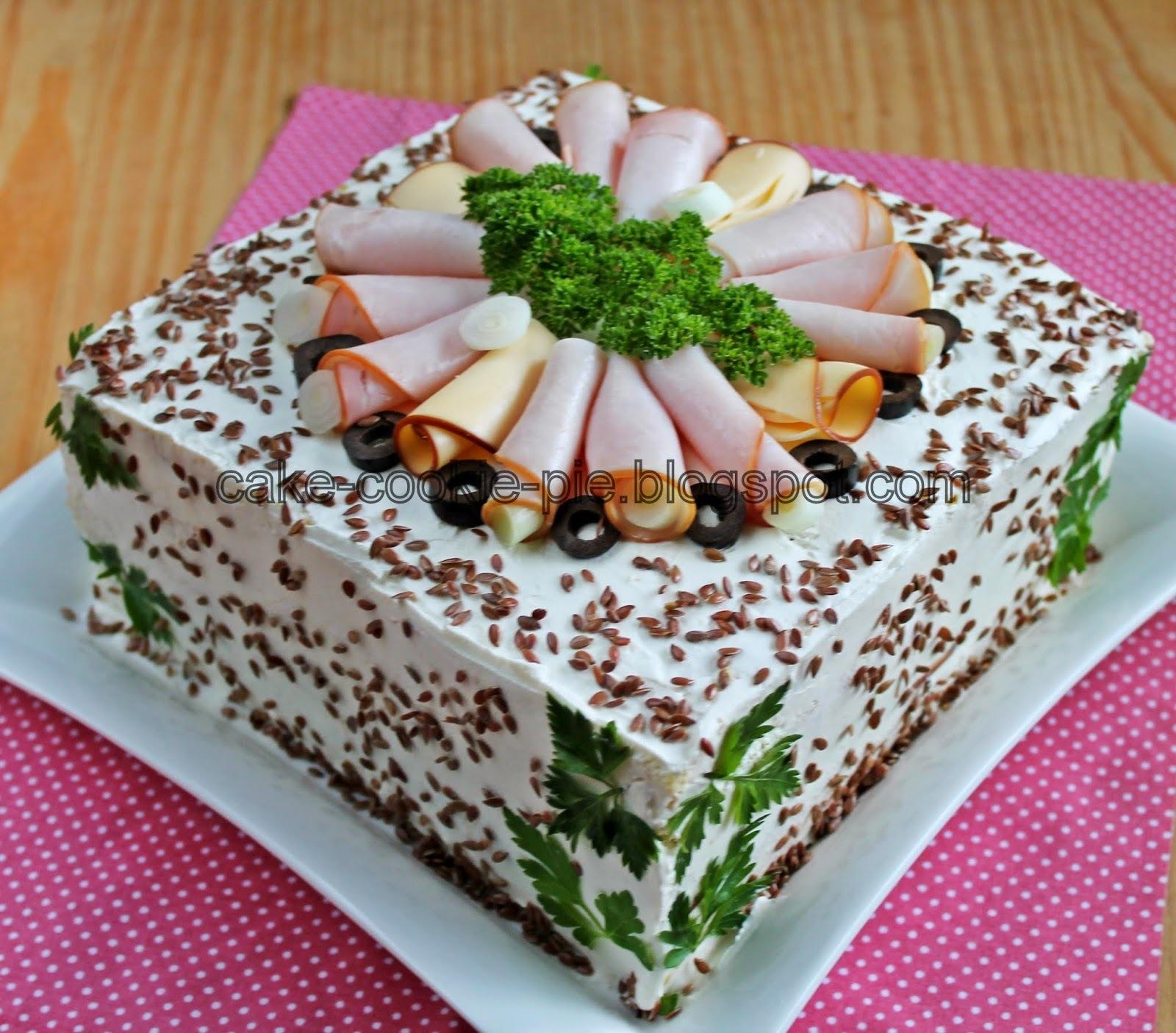 Slana torta za blogorođendan