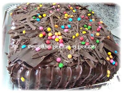 Bolo Trufado de Chocolate / Chocolate Truffle Cake