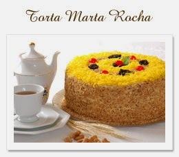 Pratos famosos - Torta Marta Rocha