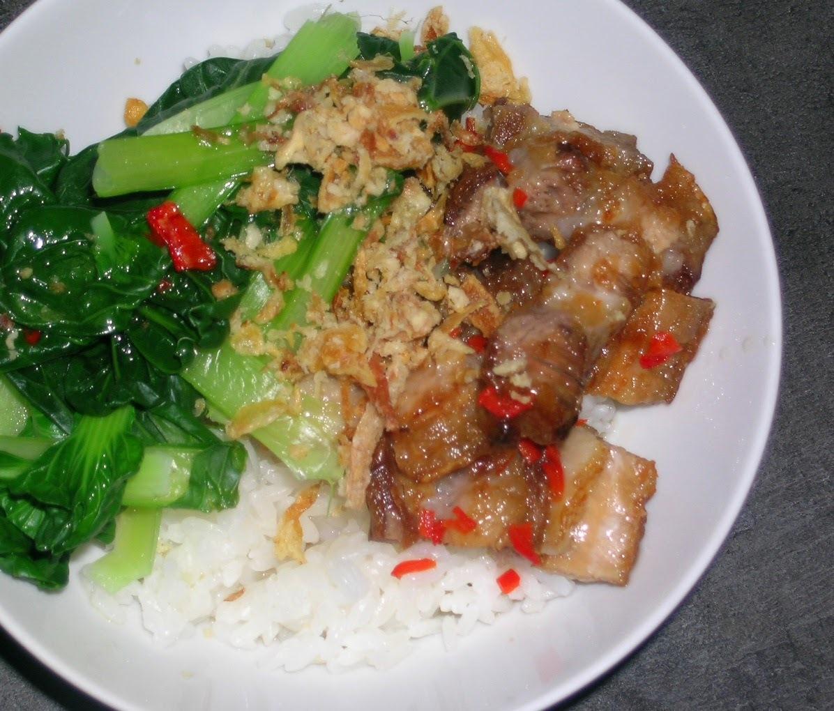 Pork Belly with Thai Dressing