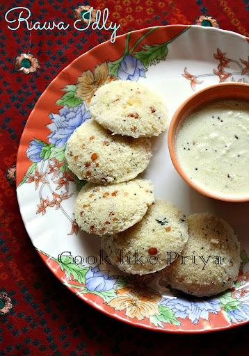 Instant Rava Idly Recipe | Sooji Idly | Quick breakfast Recipe
